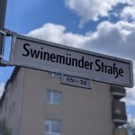 Swinemünder Straße Straßenschild